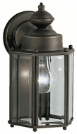 Kichler 9618OZ Outdoor 10 Inch Tall Traditional Bronze Lantern Wall Sconce