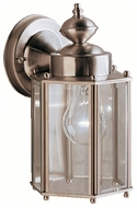 Kichler 9618SS Traditional Stainless Steel Finish Outdoor Sconce 10.25 Inch Tall