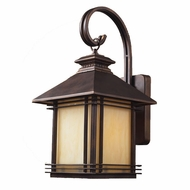 ELK 42101-1 Blackwell Craftsman Exterior 9 inch Wall Sconce
