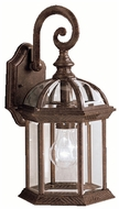 Kichler 9735TZ Barrie Tannery Bronze 15 Inch Tall Traditional Outdoor Light Sconce