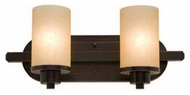 Artcraft AC1302 Aspen 2-light Contemporary Vanity Light