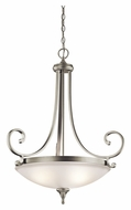 Kichler 43164NI Monroe Traditional 26 Inch Diameter Inverted Lighting Pendant - Large