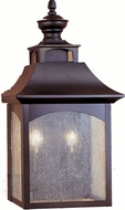Feiss OL1003-ORB Homestead 2-light 18.25 inch Exterior Wall Light in Oil Rubbed Bronze