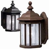 Kichler 9028 Kirkwood Small Outdoor 12.75 Inch Tall Lantern Wall Sconce