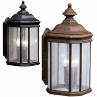Kichler 9030 Kirkwood Large Classic Lantern 21 Inch Tall Exterior Wall Lamp