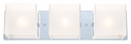 EGLO 200221A Alea I 3 Lamp Modern Bathroom Vanity Light - 19 Inches Wide