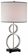 Lite Source LS21968 Luciano Two-Ring Modern Table Lamp