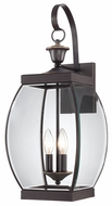 Quoizel OAS8409Z Oasis Classic Large 9 Inch Wide Outdoor Bronze Candle Lantern Wall Sconce