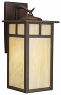 Kichler 9148CV Alameda Small Craftsman 15 Inch Tall Exterior Wall Lighting Fixture