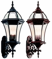 Kichler 49185 Townhouse Traditional 31 Inch Tall Exterior Sconce Lantern