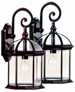 Kichler 49186 Barrie Traditional Lantern Upper Mounting Outdoor Wall Light