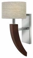 Fredrick Ramond FR42340PCM Cameron Modern 17 Inch Tall Polished Chrome Wall Sconce Lighting