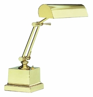 House of Troy P14202 P14-202 Fourteen Inch Piano Lamp in Polished Brass