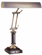 House of Troy P14233C72 P14-233 Fourteen Inch Piano Lamp in Antique Brass & Cordovan