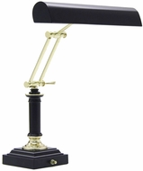 House of Troy P14233617 P14-233 Fourteen Inch Piano Lamp in Black