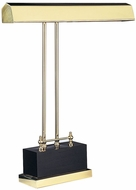 House of Troy P14D02 P14-D01 Digital Piano Lamp in Polished Brass & Black