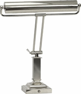 House of Troy P15815262 P15-81 Fifteen Inch Shade Piano/Desk Lamp in Chrome