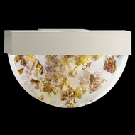 Fine Art Lamps 824550-21 Crystal Bakehouse Silver Finish 17 Inch Wide Wall Sconce Light - Neutral Crystals