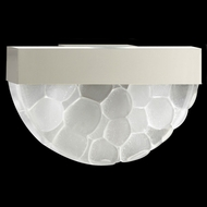 Fine Art Lamps 824550-24 Crystal Bakehouse Crystal River Stone Silver Finish Wall Light Fixture