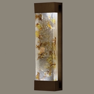 Fine Art Lamps 811050-11 Crystal Bakehouse Bronze Finish Crystal Neutral 24 Inch Tall Lighting Sconce - Large