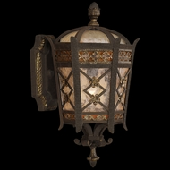 Fine Art Lamps 404781 Chateau 15 inch outdoor wall sconce in solid brass