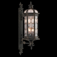 Fine Art Lamps 413981 Devonshire 39 inch outdoor wall mount sconce in Antiqued Bronze
