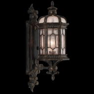 Fine Art Lamps 413781 Devonshire 23 inch outdoor wall sconce in Marbella wrought iron