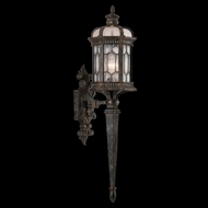 Fine Art Lamps 414681 Devonshire 33 inch outdoor wall sconce in Marbella wrought iron
