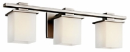 Kichler 45151AP Tully Contemporary 3-light Bathroom Vanity in Antique Pewter