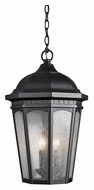 Kichler 9539BKT Courtyard 12 Inch Diameter Outdoor Hanging Pendant Lighting
