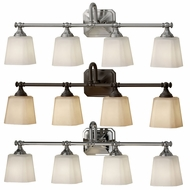 Feiss VS19704 Concord Bathroom 30 Inch Wide Transitional 4 Lamp Vanity Lighting Fixture