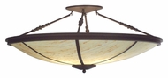 Meyda Tiffany 112356 Commerce Transitional 45 Inch Diameter 4 Lamp Ceiling Light