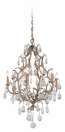 Corbett 163-06 Amadeus Crystal Medium Vienna Bronze Finish Hanging Chandelier