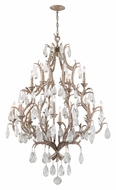 Corbett 163-712 Amadeus Extra Large 67 Inch Tall Crystal Chandelier Light Fixture