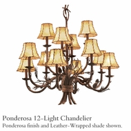 Kalco 5032 Ponderosa 12-Light Chandelier
