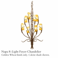 Kalco 4760gw Napa 8-Light Foyer Light