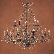ELK 8056-10+5 Circeo Rustic 15-Light Chandelier