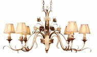 Corbett 49-53 Tivoli 6 Light Rustic Chandelier