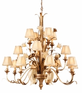 Corbett 49-016 Tivoli 16 Light Rustic Chandelier