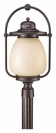 Feiss OL9408GBZ Mc Coy Large 23 Inch Tall Grecian Bronze Post Lighting