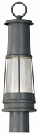 Feiss OL8207-STC Chelsea Harbor Small 22 Inch Tall Nautical LED Lamp Post Light Fixture