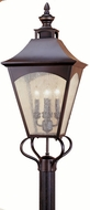 Feiss OL1008-ORB Homestead 4-light 31 inch Exterior Post Lamp in Oil Rubbed Bronze