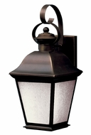 Kichler 10908OZ Mount Vernon Bronze Finish 17 Inch Tall Lantern Outdoor Sconce - Fluorescent