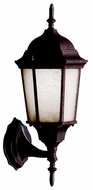 Kichler 10953TZ Madison Fluorescent Upper And Lower Finial Lantern Outdoor Wall Light