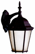 Kichler 10954TZ Madison Fluorescent Tannery Bronze Colonial Lantern Outdoor Wall Lamp