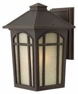 Hinkley 1984OZ-LED Cedar Hill 12 Inch Tall Traditional Oil Rubbed Bronze LED Exterior Sconce