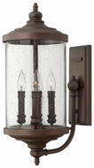Hinkley 1754VZ Barrington Transitional Bronze 4-Light Exterior Candle Wall Sconce