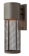 Hinkley 2300KZ Aria Short Wide Dark Sky Contemporary Exterior Wall Sconce