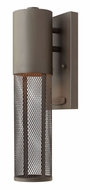 Hinkley 2306KZ Aria Small Thin Dark Sky Wet Condition Contemporary Exterior Wall Sconce