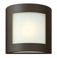 Hinkley 2020BZ Solara Small Modern 1-light Outdoor Wall Sconce in Bronze